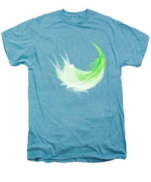 Abstract Feather Men's Premium T-Shirt by Setsiri Silapasuwanchai