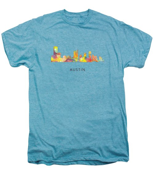 Austin Texas Skyline Men's Premium T-Shirt