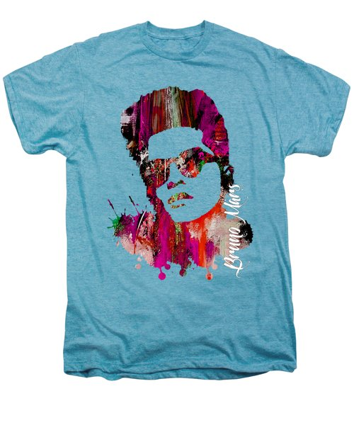 Bruno Mars Collection Men's Premium T-Shirt by Marvin Blaine