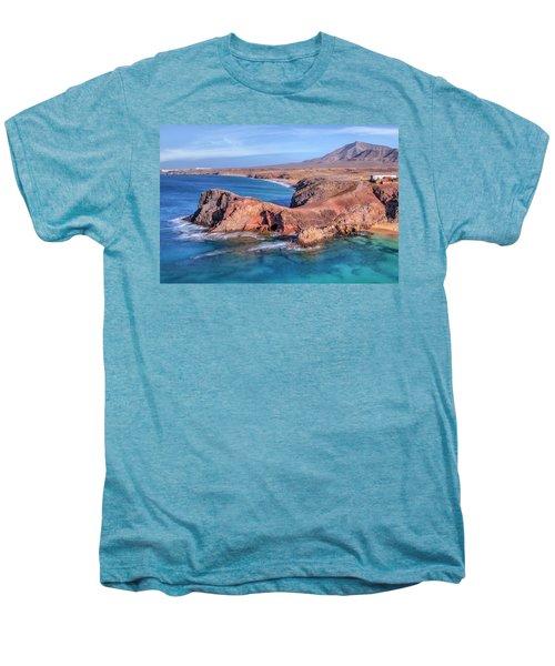 Playa Papagayo - Lanzarote Men's Premium T-Shirt by Joana Kruse