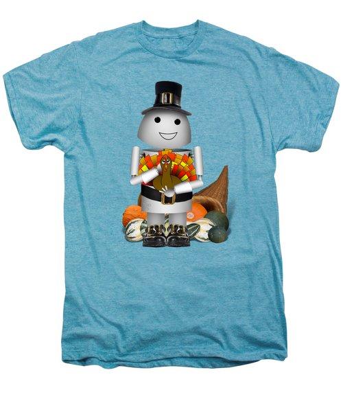 Robo-x9 The Pilgrim Men's Premium T-Shirt