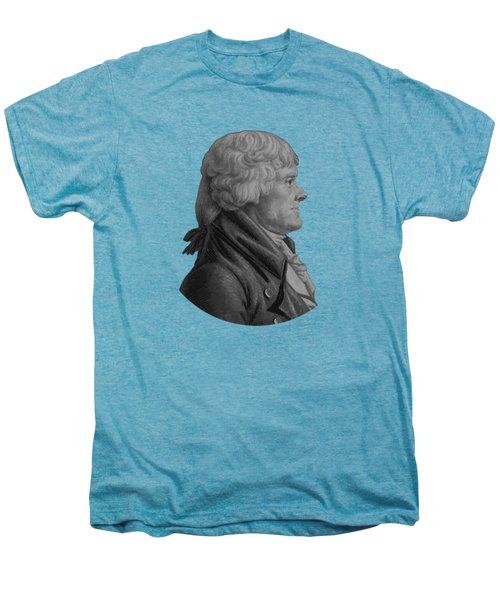 Thomas Jefferson Profile Men's Premium T-Shirt