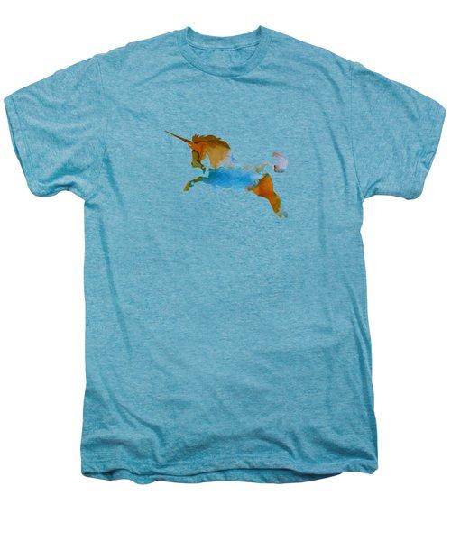 Unicorn Men's Premium T-Shirt by Mordax Furittus