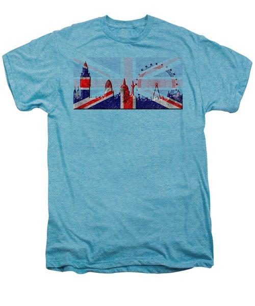 London Skyline Men's Premium T-Shirt