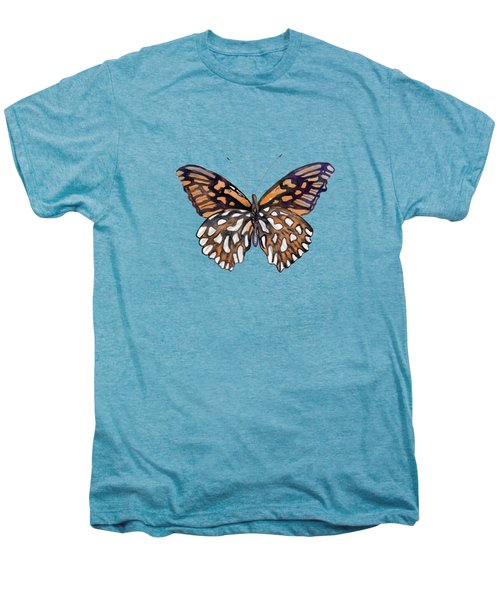 9 Mexican Silver Spot Butterfly Men's Premium T-Shirt