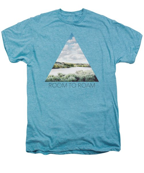 A Bend In The Yellowstone Men's Premium T-Shirt