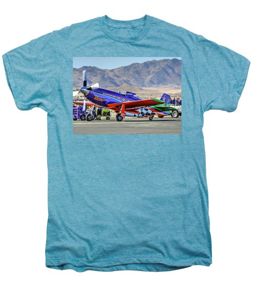 A Closer Look At Voodoo Engine Start Sundays Unlimited Gold Race Men's Premium T-Shirt