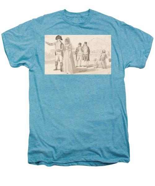 A Family In Hyde Park Men's Premium T-Shirt