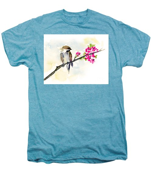 A Little Bother Men's Premium T-Shirt by Amy Kirkpatrick