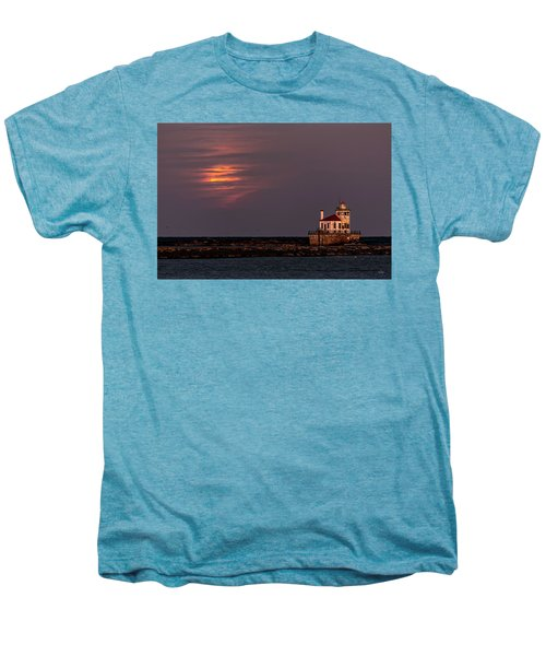 A Moonsetting Sunrise Men's Premium T-Shirt