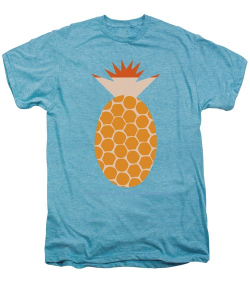 A Pineapple A Day Keeps The Doctor Away Men's Premium T-Shirt
