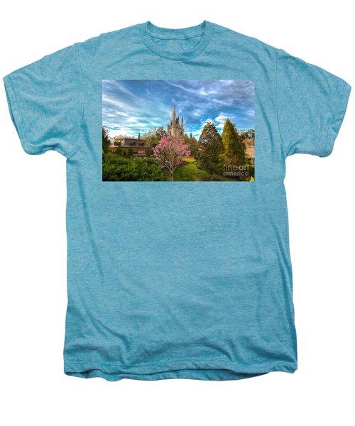 A Quiet Countryside Men's Premium T-Shirt