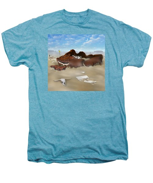 A Slow Death In Piano Valley Sq Men's Premium T-Shirt