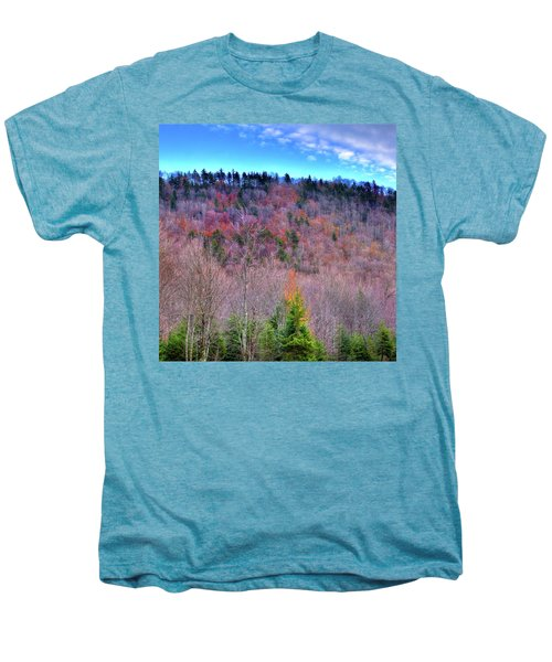 Men's Premium T-Shirt featuring the photograph A Touch Of Autumn by David Patterson