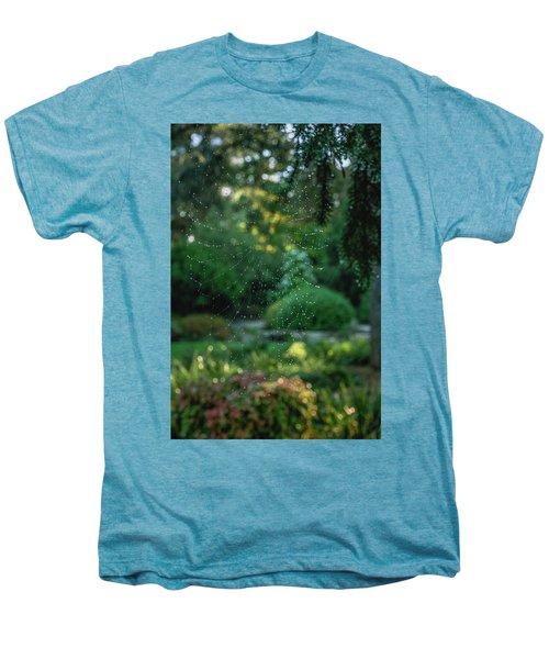 Morning Web Men's Premium T-Shirt