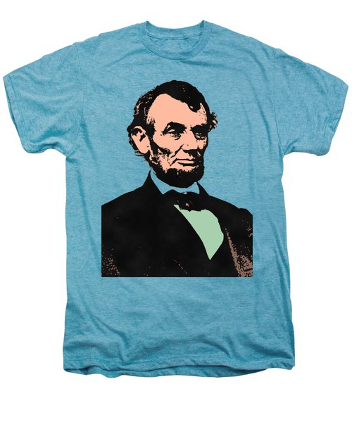 Abe Lincoln 2 Men's Premium T-Shirt by Otis Porritt