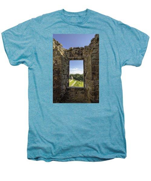 Men's Premium T-Shirt featuring the photograph Aberdour Castle by Jeremy Lavender Photography
