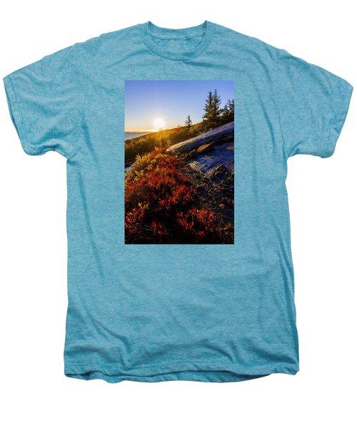 Above Bar Harbor Men's Premium T-Shirt