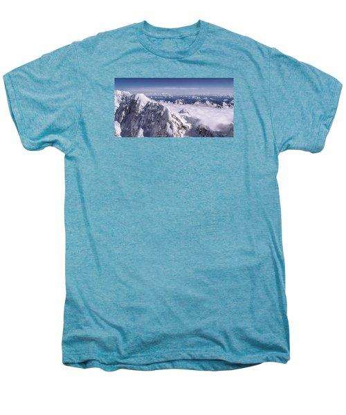 Above Denali Men's Premium T-Shirt