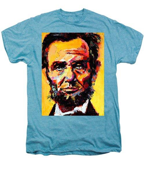 Abraham Lincoln 14 Men's Premium T-Shirt