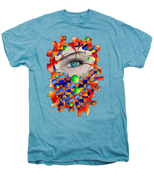 Abstract Digital Art - Delaneo V3 Men's Premium T-Shirt