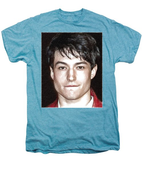 Actor And Musician Ezra Miller Men's Premium T-Shirt by Best Actors