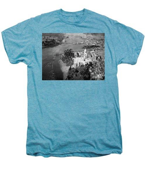 Aerial View Northward Over Olympia Men's Premium T-Shirt