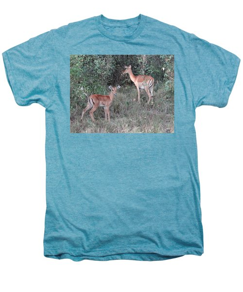 Africa - Animals In The Wild 2 Men's Premium T-Shirt by Exploramum Exploramum