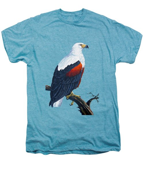African Fish Eagle Men's Premium T-Shirt by Anthony Mwangi