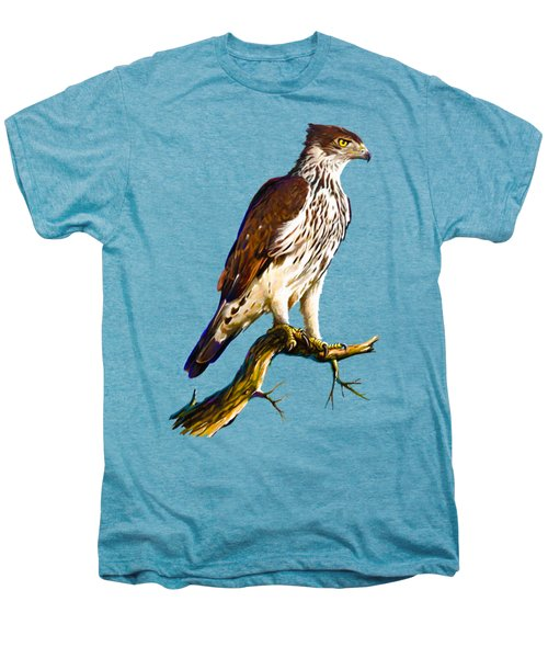African Hawk Eagle Men's Premium T-Shirt by Anthony Mwangi
