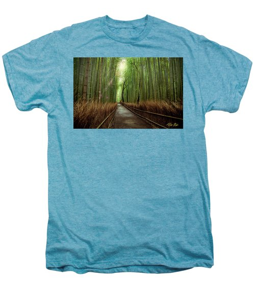 Afternoon In The Bamboo Men's Premium T-Shirt