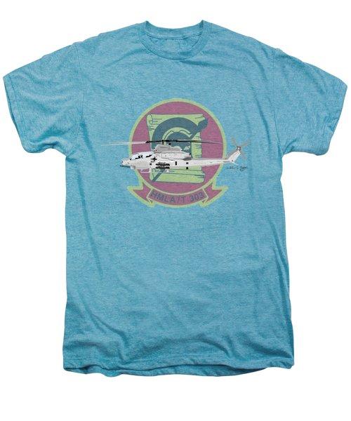 Ah-1z Viper Men's Premium T-Shirt by Arthur Eggers