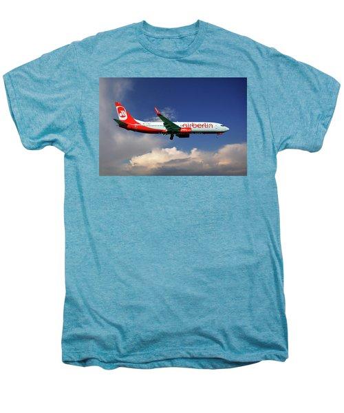 Air Berlin Boeing 737-800 Men's Premium T-Shirt