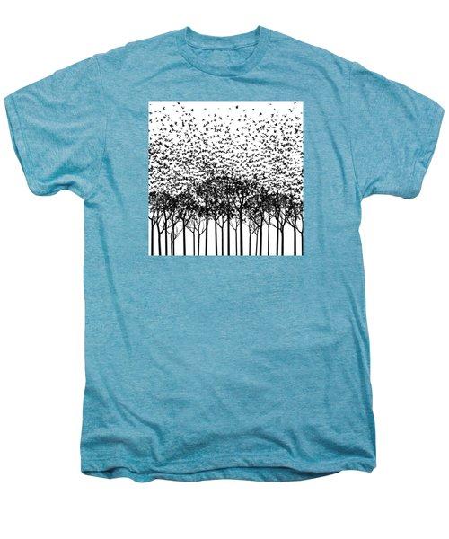Aki Monochrome Men's Premium T-Shirt by Cynthia Decker