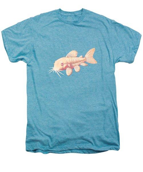 Albino Cory Catfish Men's Premium T-Shirt