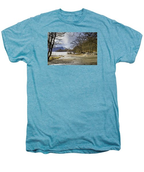 Men's Premium T-Shirt featuring the photograph All Seasons At Loch Lomond by Jeremy Lavender Photography