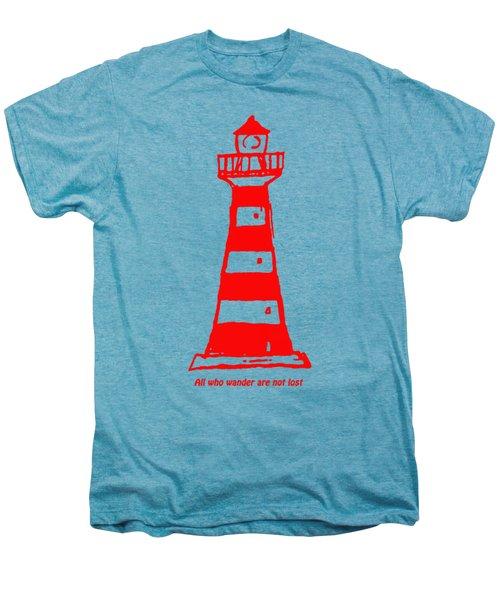 All Who Wander Men's Premium T-Shirt by Gillian Singleton