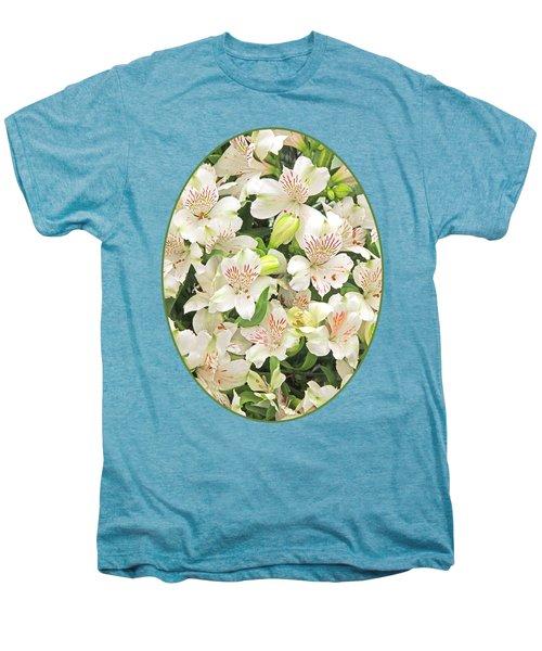 Alluring Alstroemeria - Peruvian Lilies Men's Premium T-Shirt