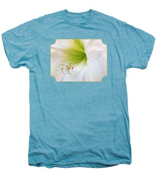 Alluring Amaryllis Men's Premium T-Shirt by Gill Billington