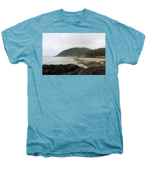 Along The Oregon Coast - 3 Men's Premium T-Shirt