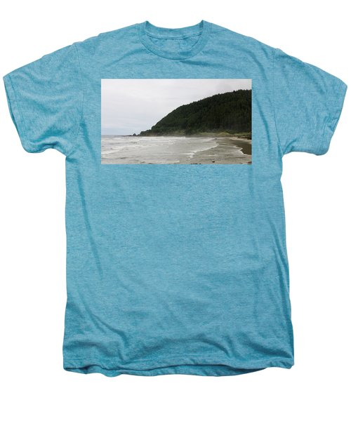 Along The Oregon Coast - 4 Men's Premium T-Shirt