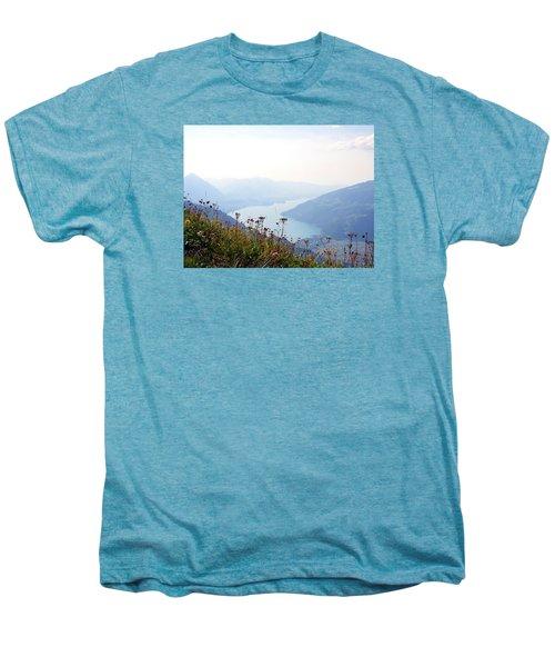 Alpine Flora On Top Of Schynige Platte Men's Premium T-Shirt