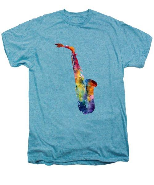 Alto Sax Men's Premium T-Shirt