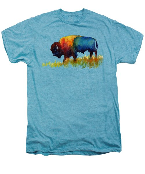 American Buffalo IIi Men's Premium T-Shirt by Hailey E Herrera