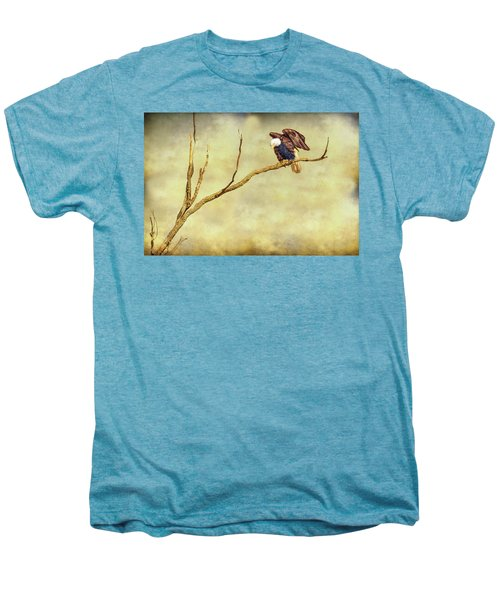 Men's Premium T-Shirt featuring the photograph American Freedom by James BO Insogna