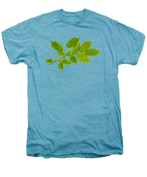 Men's Premium T-Shirt featuring the photograph American Hornbeam by Christina Rollo