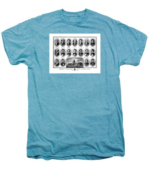 American Presidents First Hundred Years Men's Premium T-Shirt by War Is Hell Store