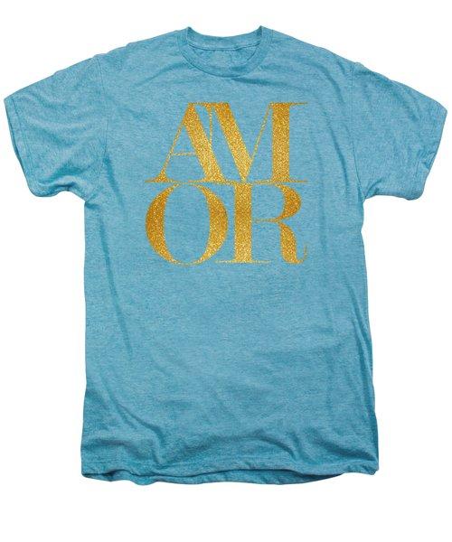 Amor Men's Premium T-Shirt by Liesl Marelli