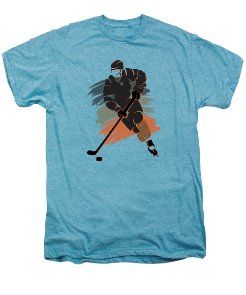 Anaheim Ducks Player Shirt Men's Premium T-Shirt by Joe Hamilton