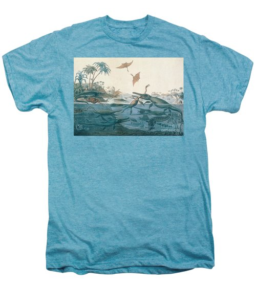 Ancient Dorset Men's Premium T-Shirt by Henry Thomas De La Beche